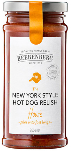 New York Style Hot Dog Relish - 265g
