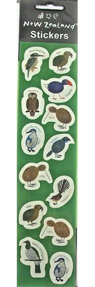 New Zealand Bird Stickers