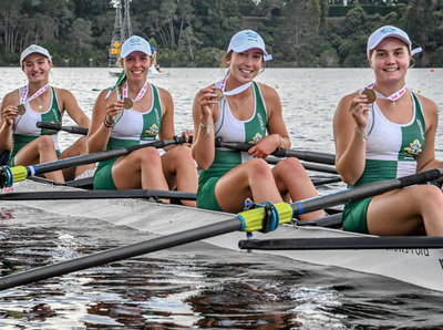 New Zealand boat manufacturer takes the lead in rowing