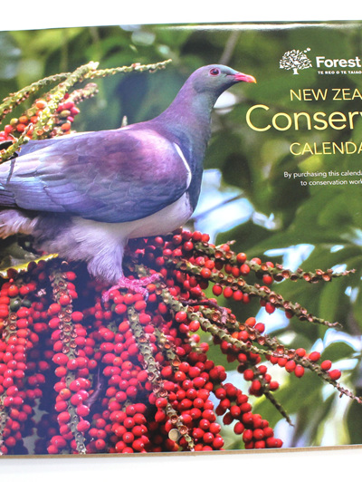 New Zealand Conservation Calendar 2018