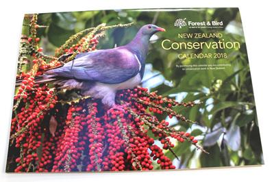 New Zealand Conservation Calendar 2018