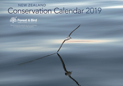 New Zealand Conservation Calendar 2019