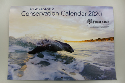 New Zealand Conservation Calendar 2020