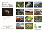 New Zealand Conservation Calendar 2021