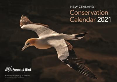 New Zealand Conservation Calendar 2021