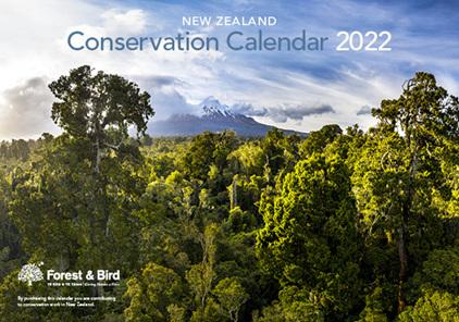 New Zealand Conservation Calendar 2022