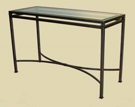 Iron Persian Console Table