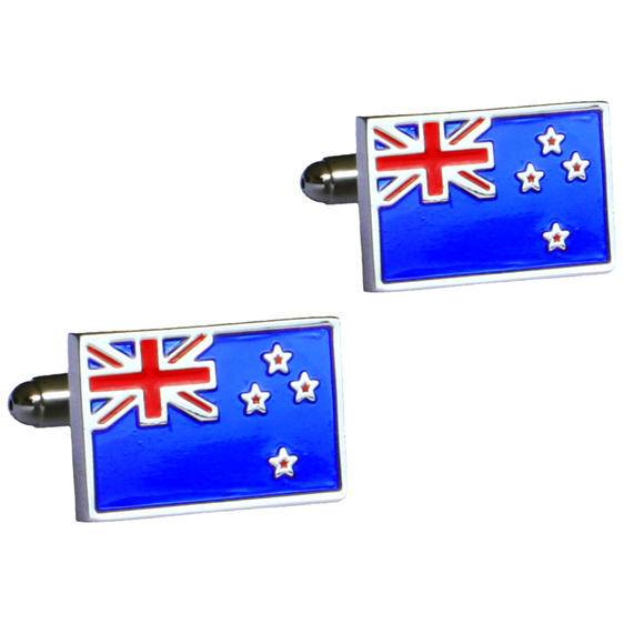 New Zealand Flag Cufflinks | On the Cuff