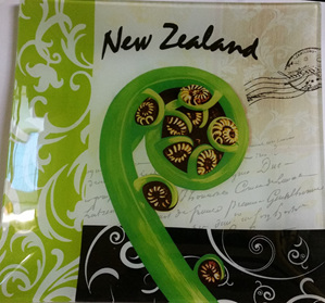 New Zealand Frond Plate