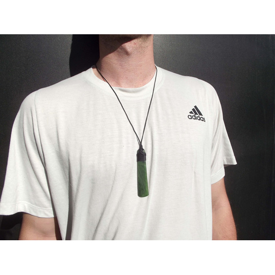 New Zealand Greenstone or Pounamu Toki or pendant made in NZ