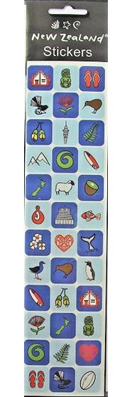 New Zealand Icon Stickers