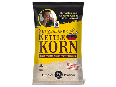 New Zealand Kettle Korn joins Eat My Lunch