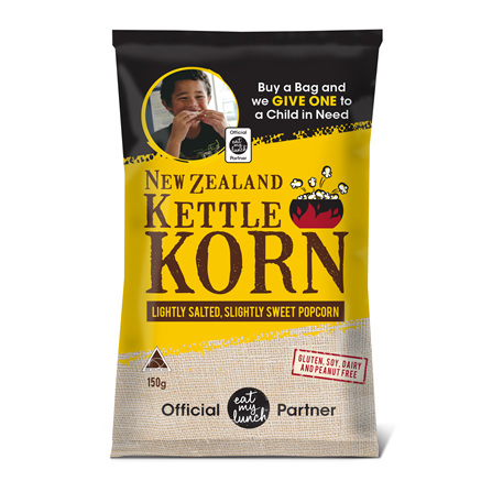 New Zealand Kettle Korn's Eat My Lunch Supporter's Bay