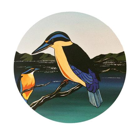 New Zealand Kingfisher NZ23