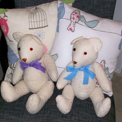 Teddy Bears and Animal Ornaments