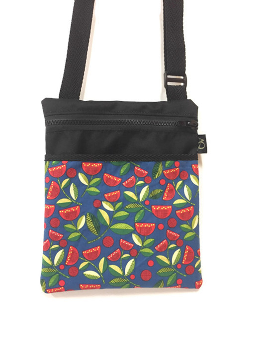 New Zealand Pohutukawa flower handbag