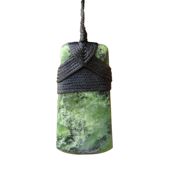 New Zealand Pounamu Greenstone Toki or pendant made in New Zealand