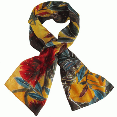 New Zealand Silk Scarves