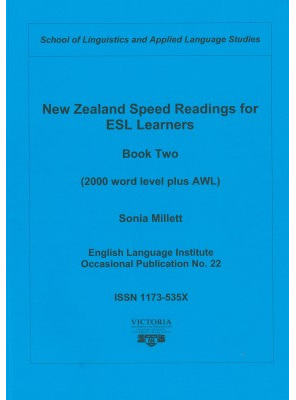New Zealand Speed Reading for ESL Learners Book Two