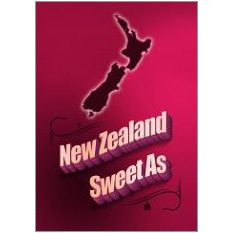 NZ Sweet As Fridge Magnet
