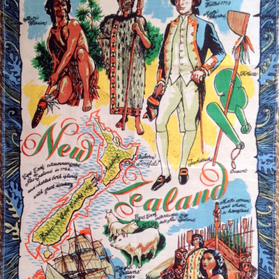 New Zealand Souvenir Tea Towel