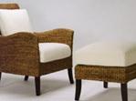 Newton Armchair Water Hyacinth New Zealand Furniture