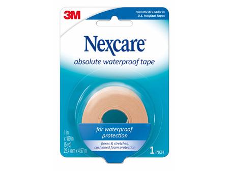 Nexcare Absolute Waterproof Tape 2.5cm x 4.5m