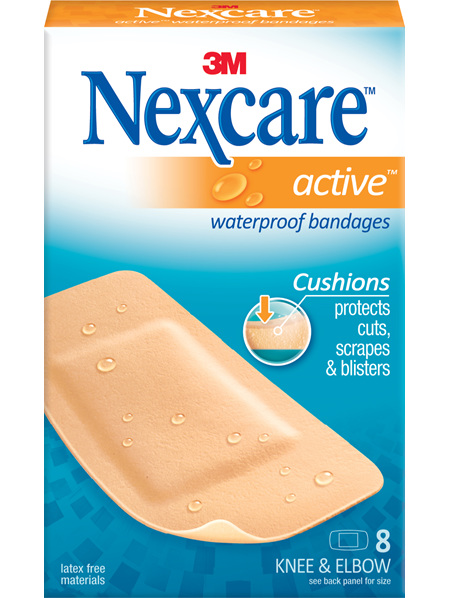 Nexcare Active Knee/Elbow W/Proof 8