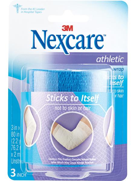 Nexcare Athletic Wrap 76.2 Mm X 2 M Blue