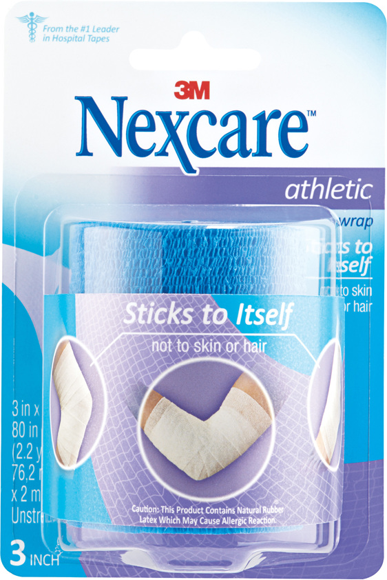Nexcare Athletic Wrap 76.2 Mm X 2 M Blue