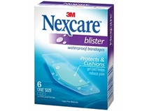Nexcare Blister W/P  Plaster - 6 - One Size