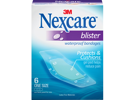 Nexcare Blister W/Proof Plasters 6