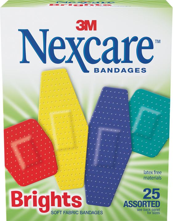 Nexcare Brights Asstd 25