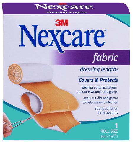 Nexcare Fabric Dres Length  6Cm X 1M