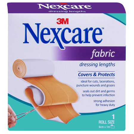 Nexcare Fabric Dres Length  6Cm X 1M