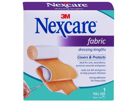 Nexcare Fabric Dressing Length 6cm x 1m