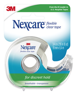 Nexcare Flexible Clear Tape 19 Mm X  6.4 M