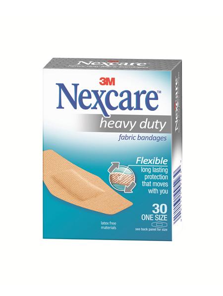 Nexcare Hd Fabric Bndage One Size 30