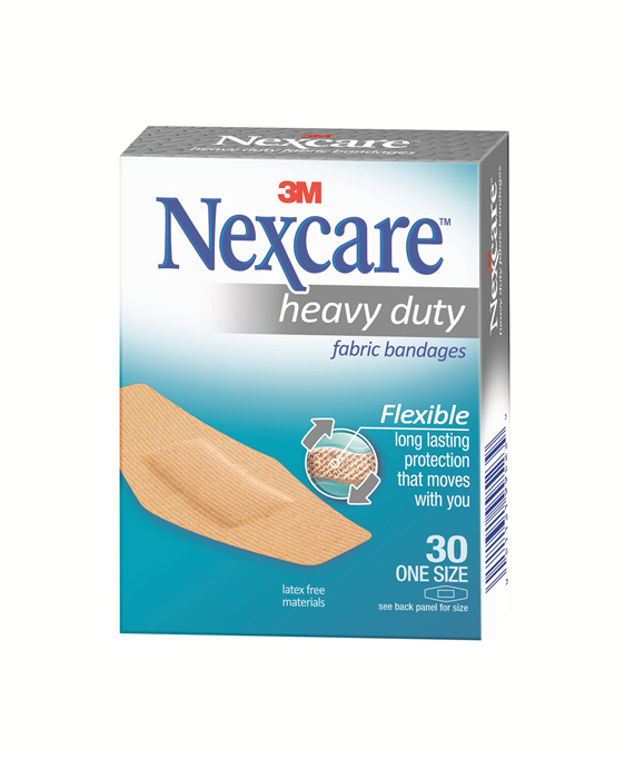 Nexcare Hd Fabric Bndage One Size 30