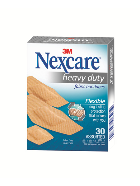 Nexcare Hd Fabric Bndge Asstd 30