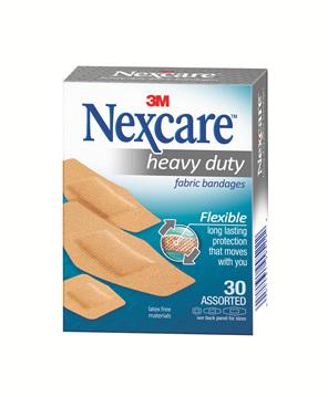 Nexcare Hd Fabric Bndge Asstd 30