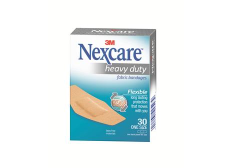 Nexcare Heavy Duty Fabric Bandage One Size 30pc