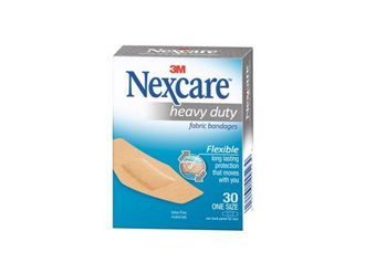 Nexcare Heavy Duty Fabric Plasters