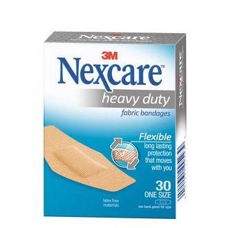 Nexcare Heavy Duty Fabric Plasters