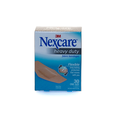 Nexcare Heavy Duty Fabric Strips