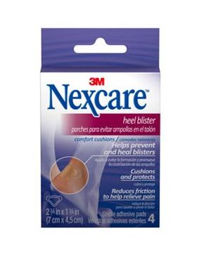 Nexcare Heel Blis Comf Cush 4 Pad 7X4.5Cm