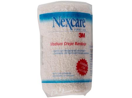 Nexcare Medium Crepe Banadages 10 Cm X 1.6 M