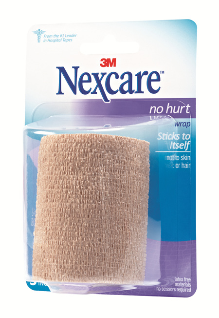 Nexcare No Hurt Wrap 75 Mm X 2 M
