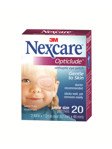 Nexcare Opticlude Junior 20/Box