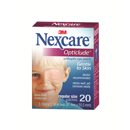 Nexcare Opticlude Reg 20/Box